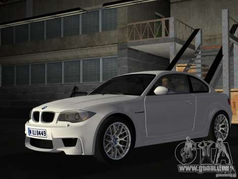 BMW 1M Coupe RHD für GTA Vice City