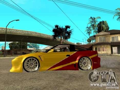 Nissan 240SX DRIFT SPEC pour GTA San Andreas laissé vue
