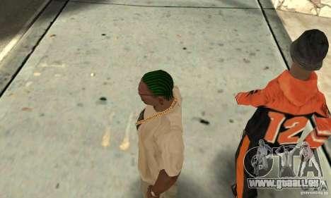 Grüne kornrou für GTA San Andreas dritten Screenshot