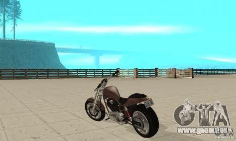 GTAIV Reverant pour GTA San Andreas sur la vue arrière gauche
