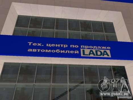 Auto VAZ pour GTA San Andreas deuxième écran