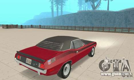 Plymouth Cuda AAR 340 1970 für GTA San Andreas linke Ansicht