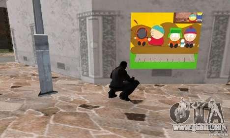 South Park Grafitti Mod pour GTA San Andreas cinquième écran