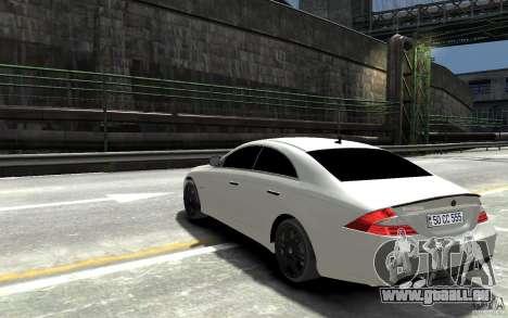 Mercedes Benz CLS Brabus Rocket 2008 für GTA 4 hinten links Ansicht