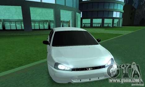 Lada Kalina Hatchback pour GTA San Andreas sur la vue arrière gauche