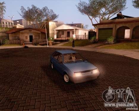 VAZ 2109 pour GTA San Andreas vue de côté