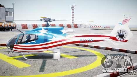 Eurocopter EC 130 B4 USA Theme pour GTA 4 est une gauche