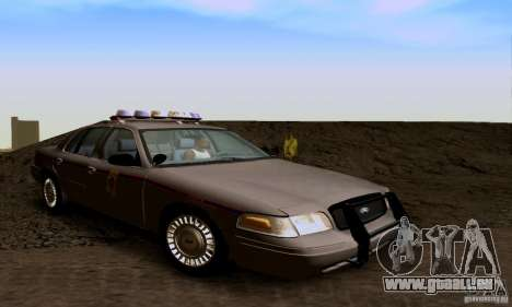 Ford Crown Victoria Mississippi Police für GTA San Andreas
