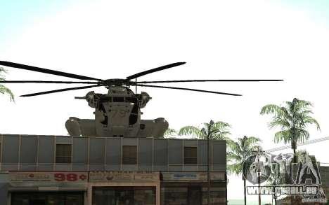 CH 53E für GTA San Andreas Seitenansicht
