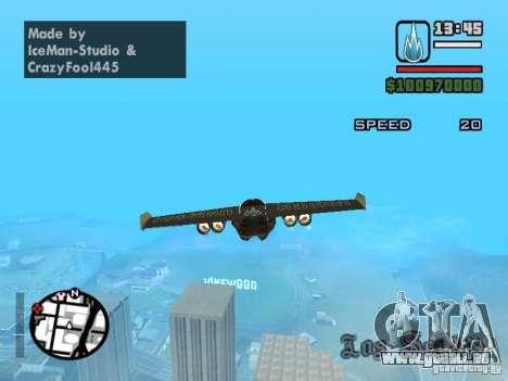 Jetwing Mod für GTA San Andreas dritten Screenshot