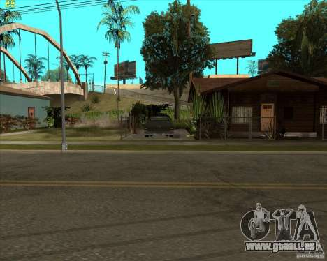 Car in Grove Street für GTA San Andreas dritten Screenshot