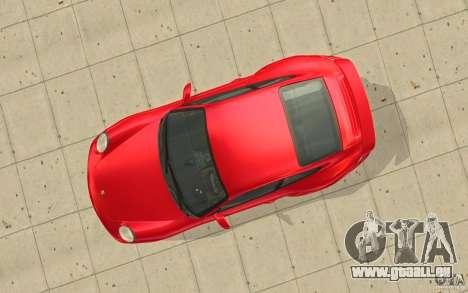 Porsche 911 (997) Turbo v3.0 pour GTA San Andreas vue arrière