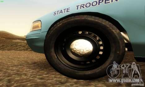 Ford Crown Victoria Maine Police für GTA San Andreas rechten Ansicht