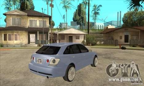 Toyota Alteza Wagon pour GTA San Andreas vue de droite