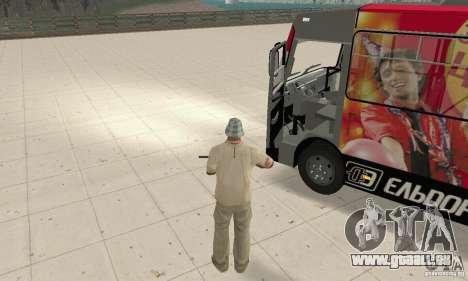 Bogdan A091 pour GTA San Andreas vue arrière