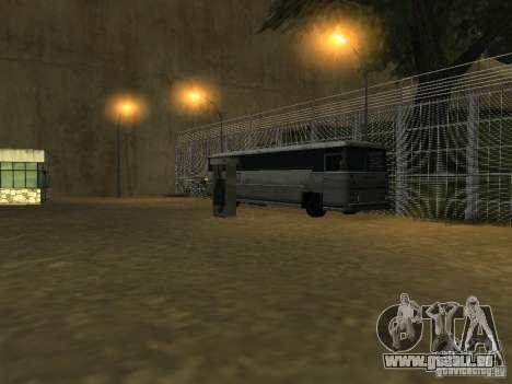 Busparkplatz v1. 1 für GTA San Andreas her Screenshot