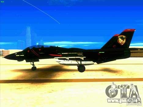 F-14 Tomcat Razgriz pour GTA San Andreas laissé vue