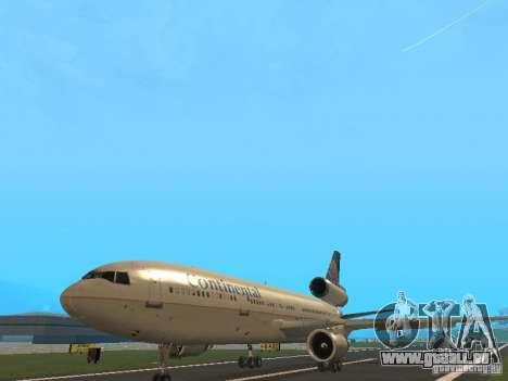 McDonell Douglas DC10 Continental Airlines pour GTA San Andreas