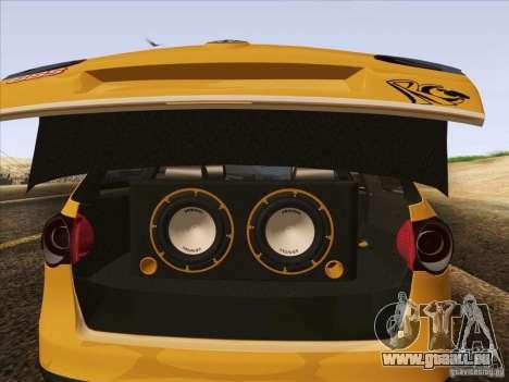 Volkswagen Passat B6 Variant pour GTA San Andreas roue
