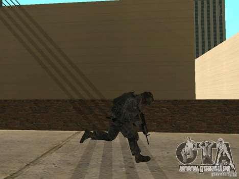 Animations v1.0 pour GTA San Andreas deuxième écran