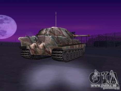 Pzkpfw VII Tiger II pour GTA San Andreas vue de droite