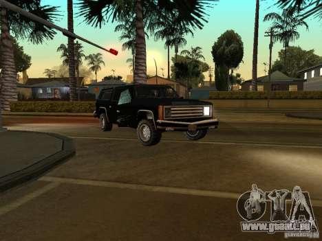 Flics camouflés pour GTA San Andreas troisième écran