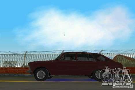 IZH-2125 Kombi pour GTA Vice City sur la vue arrière gauche