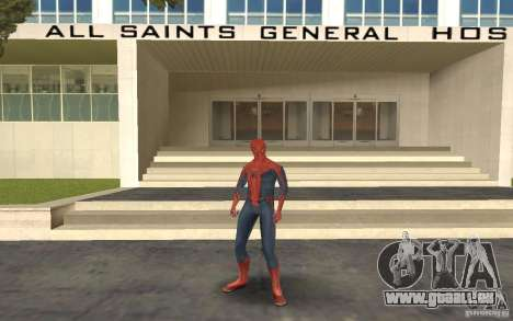 Skins from Spider-Man pour GTA San Andreas