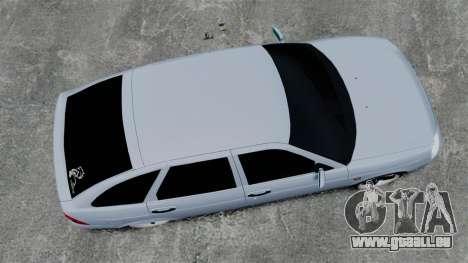 VAZ-2172 FBI für GTA 4 rechte Ansicht
