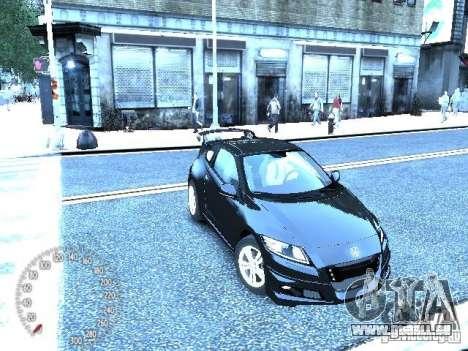 Honda Mugen CR-Z pour GTA 4 est une gauche
