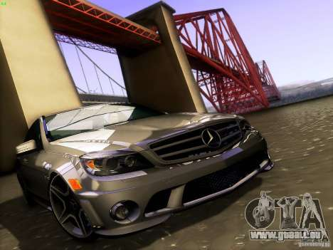 Mercedes-Benz C36 AMG pour GTA San Andreas moteur