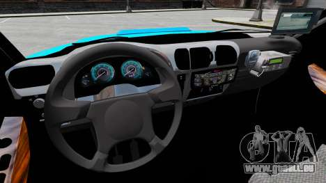 Chevrolet Blazer 2010 PMERJ ELS pour GTA 4 Vue arrière