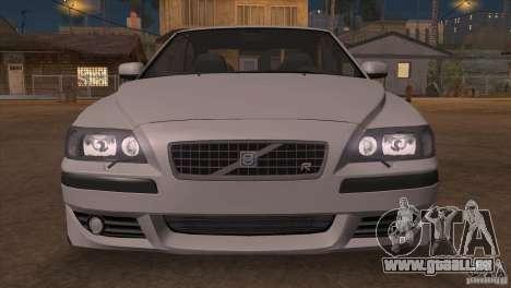 Volvo S60R für GTA San Andreas Unteransicht