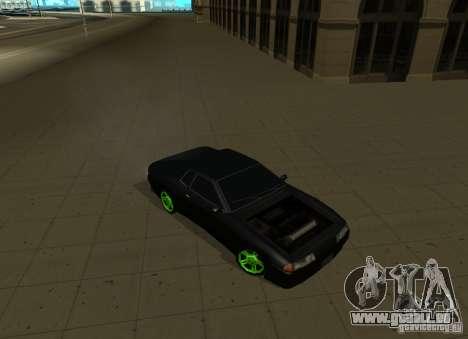 Elegy Green Drift für GTA San Andreas rechten Ansicht