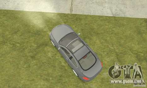 2004 BMW 645ci E63 mit weißem Interieur für GTA San Andreas zurück linke Ansicht