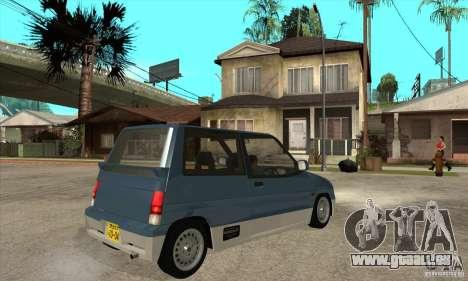 Suzuki Alto Works pour GTA San Andreas vue de droite