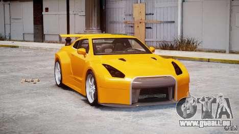 Nissan Skyline R35 GTR für GTA 4 rechte Ansicht