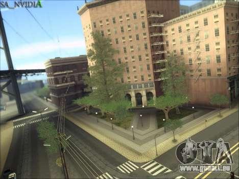 SA_NVIDIA v1.0 pour GTA San Andreas cinquième écran