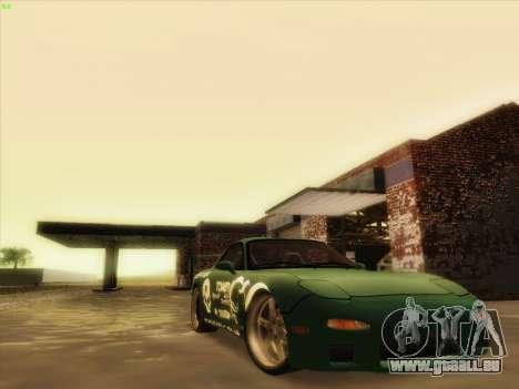 Mazda RX7 rEACT für GTA San Andreas