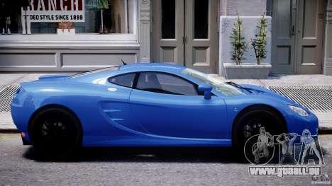 Ascari KZ-1 pour GTA 4 est une vue de dessous