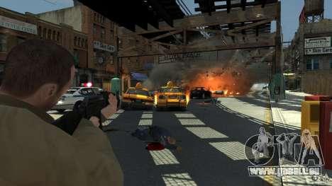 Red Army Mod (Realistic Weapon Mod) pour GTA 4 cinquième écran