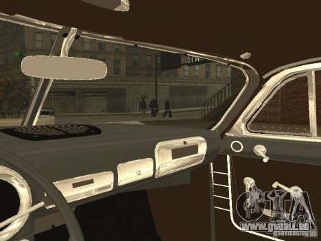 Hudson Hornet 1952 für GTA San Andreas Rückansicht
