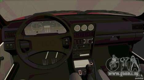 Audi Sport quattro 1983 pour GTA San Andreas vue arrière