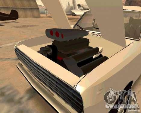 GAZ Volga 2410 Hot Road für GTA San Andreas Innen