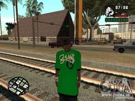 remplacement de peau 3 Cj pour GTA San Andreas troisième écran