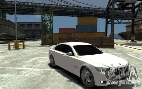 Bmw 750 LI v1.0 pour GTA 4 Vue arrière