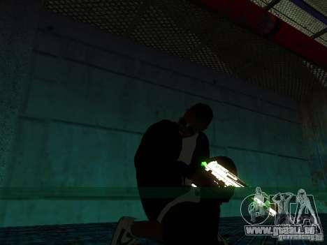 Nouveau Ballas épais pour GTA San Andreas troisième écran