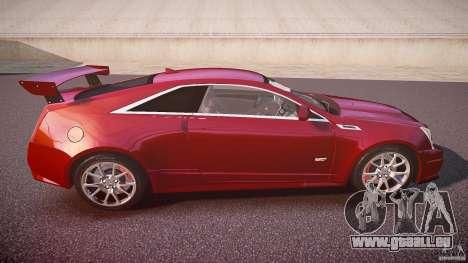 Cadillac CTS-V Coupe für GTA 4 Seitenansicht