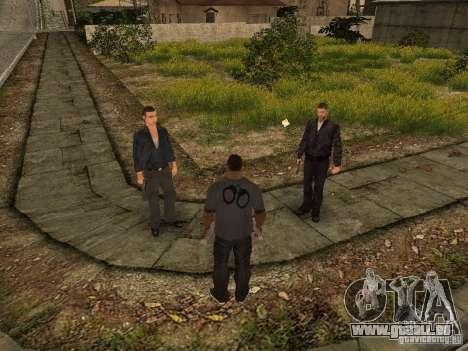 MAFIA Gang pour GTA San Andreas quatrième écran
