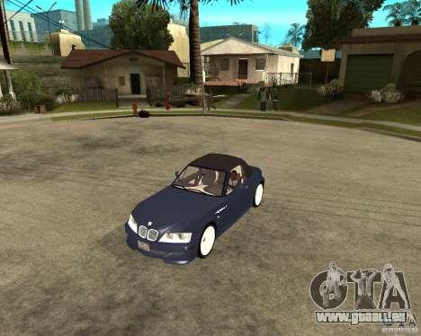 BMW Z3 Roadster pour GTA San Andreas